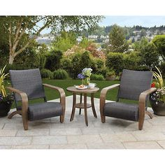 Brown Jordan 3-piece Adirondack Seating Set