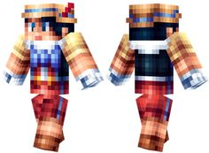 Download: http://minecrafteon.com/pinocchio-minecraft-skin/