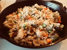 Vegan Garlic Fried Rice with Vegetables Here's one of my favorite vegan recipes to make for breakfast, but you can have it any time of