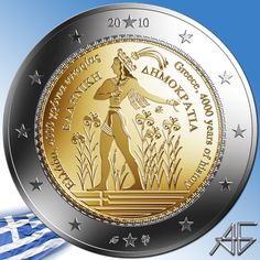 Timbre Collection, World Coins, Coin Collecting, Greece, History, Butterfly, Collections, Design, Report Cards