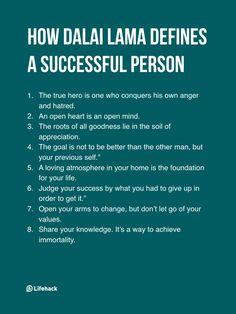 How Dalai Lama defines success is truly inspirational