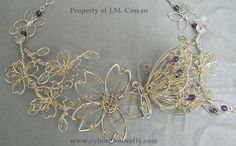 Spring Necklace by cyborgbutterfly on deviantART
