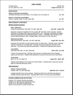 Lead Teller Resume Inspiration Resume Example  Resume Ideas  Pinterest  Resume Examples .