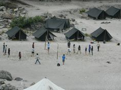 """Rishikesh Beach Camping- One of the largest beach camps in Rishikesh-""""Camp Crossfire"""" If your are camping lover than your will miss this."""