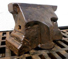 "A087-02 Anvil in the collection of ""Lesoutils Demagic"".  42cm x 9cm x 28cm.  Wgt: ~130kg."