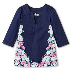 06a3e51ad1 Toddler Girls  Cover Up Dress Nightfall Blue - Circo™ My Little Girl