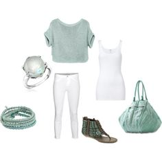 Pastel Green, created by ashlee470