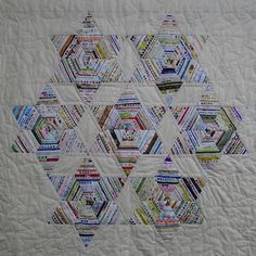 Selvedge quilt - made with memories