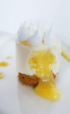 °°popote de véro°°: Un cheese cake qui se prenait pour une tarte citron meringuée...