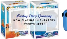 Finding Dory Funko Pops Giveaway {US} (6/30/2016) via... sweepstakes IFTTT reddit giveaways freebies contests