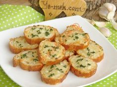 How to cook Baked Garlic Bread Recipe? You can easily make Baked Garlic Bread Recipe. Baked Garlic Bread Recipe, Greek Cooking, Oven Dishes, Appetizer Salads, Food Words, Breakfast Items, Turkish Recipes, Snacks, Tapas