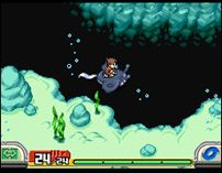 Underwater, can u guess what game this is?  correct pokemon ranger shadows of alimia