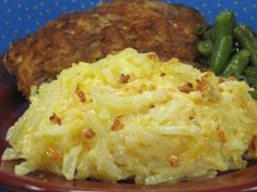 Coleens Recipes: CHEDDAR & BACON HASH BROWN SIDE DISH