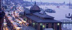 Fischmarkt - Fischauktionshalle Hamburg