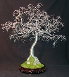 wire bonsai tree - Google Search