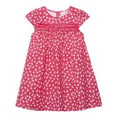 bluezoo Babies pink bunny patterned dress and headband set- at Debenhams.com