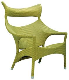 Outdoor furniture that is funky, fine, and very low maintenance by Janus et Cie #furniture #chair #outdoor #patio #design