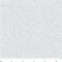 *3/4 YD PC--White Stripe Seersucker