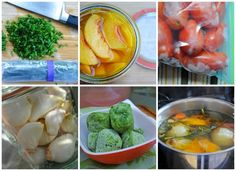 freezing garden herbs, fruit, vegetables - A Way to Garden - good tips here and links to more