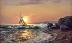 michael satarov art paintings seascape