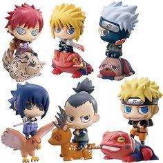 Naruto Shippuden Petite Chara Land Mini-Figures 5-Pack