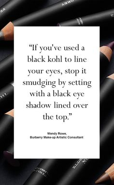 Shop Burberry eye make-up including Effortless Blendable Kohl, a versatile, intensely pigmented crayon that can be used as a kohl, eyeliner and smokey-eye pencil.