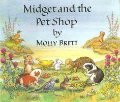 """Midget and the Pet Shop"" by Molly Brett. Medici 1975"