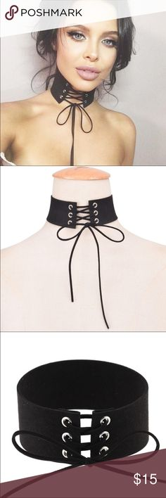 Special Price Today*** Sexy Lace Choker  ❗️ Lace black choker ! Jewelry Necklaces https://bellanblue.com