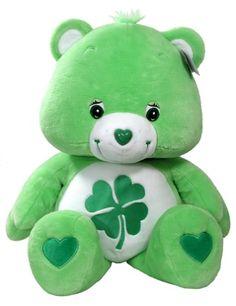 The Care Bears plush Care Bears Stuffed Animals, Cute Stuffed Animals, Care Bears Vintage, Care Bears Plush, Bear Coloring Pages, Bear Theme, St Paddys Day, Build A Bear, Retro Toys