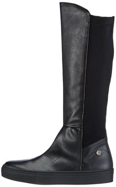7f12c4ef9 Jonny s Vegan Women s Kanna Cold lined riding boots long length  Amazon.co. uk  Shoes   Bags