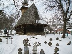 Biserica de lemn din Mierag Cabin, House Styles, Outdoor, Decor, Outdoors, Decoration, Cabins, Cottage, Outdoor Games