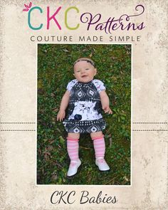 A PDF Sewing Pattern Company for Boutique Clothes and Accessories including crochet patterns.