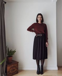 86 Best Skirts with Boots images | Autumn fashion, Style