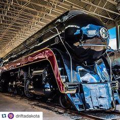 See the N&W 611 Steam Locomotive at the Virginia Museum of Transportation | Photo by Instagram user driftadakota