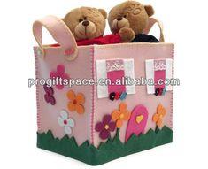 çevre dostu el yapımı kare sevimli yün keçe oyuncak depolama sepeti toplu çin yapılan-Saklama sepetleri-ürün Kimliği:1598771343-turkish.alibaba.com