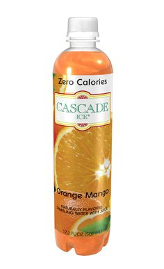 Zero-calorie Orange Mango Sparkling Water