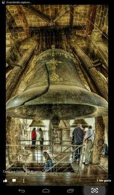 La campana gorda. Catedral de Toledo Toledo Spain, Spain Travel, Bucket, Tower, Country, Temples, Spain, Arquitetura, Home