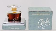 "RARE VINTAGE BOXED REVLON ""CHARLIE"" 1/2 FL OZ CONCENTRATED PERFUME 1973"