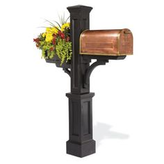 Westbrook Mail Post- Burt mke me the stand and we'll just buy the copper mailbox.