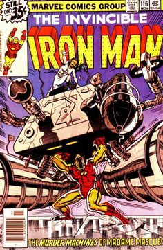 Bob Layton, David Michelinie & John Romita's run of Iron Man 114-157