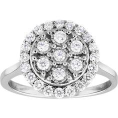 Diamonds Cluster Ring in White Gold Diamond Cluster Ring, Diamonds, White Gold, Colour, Engagement Rings, Jewelry, Color, Enagement Rings, Wedding Rings