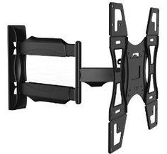 """Invision - Soporte de pared para televisores (brazo articulado, inclinable y oscilante) Compatible con monitores de 26 a 55"""" (máx. VESA 400 x 400 mm)."""