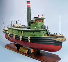 Brooklyn Tug Boat Kit, 1/32 Scale