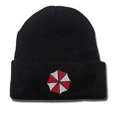 Resident Evil Hat warm Embroidered