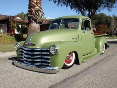 1949 Chevrolet Slammed Custom Pickup