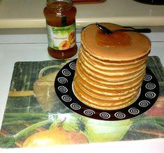 Fluffy Pancakes, Banana Pancakes, American Pancakes, Chocolate Chip Pancakes, Homemade Pancakes, Cake Photography, Sweet Treats, Pudding, Sweets