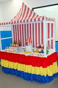 vbs circus decorations   Colossal Coaster World VBS / Carnival VBS / Carnival party