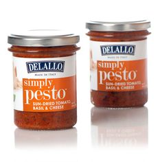DeLallo Simply Pesto® - Sun-Dried Tomato, Basil & Cheese | Artichokes ...