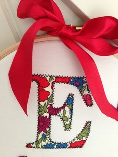 Items similar to Monogram. Ideal Gift for a New Born Baby, Christening or Birthday. Personalised and Handmade to order. on Etsy Scissors, Christening, Christmas Stockings, Monogram, Holiday Decor, Birthday, Baby, Gifts, Handmade