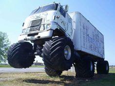 Monster Semi Truck. #Trucking